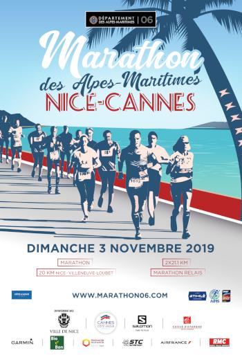 Marathon des Alpes-Maritimes Nice-Cannes 2019…