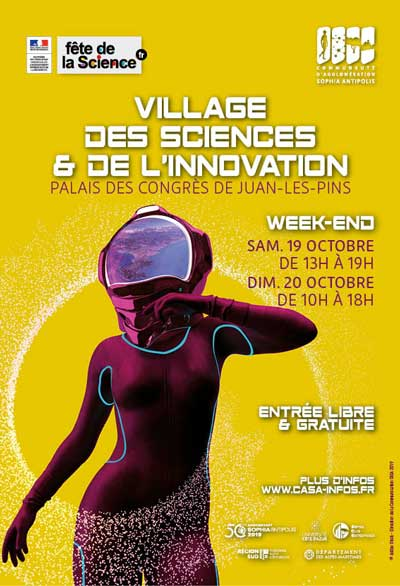Antibes Juan-les-Pins : Village des Sciences et de l'Innovation 2019…
