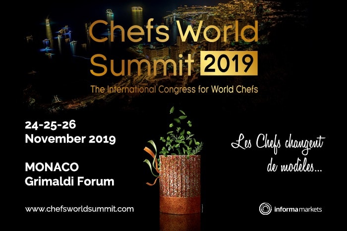 MONACO : CHEFS WORLD SUMMIT 2019…