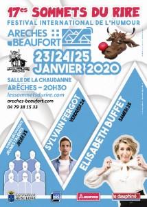 Arêches-Beaufort (Savoie) : 17 ème édition des «Sommets du Rire»…